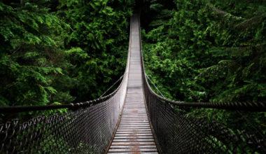 suspension bridge, Thailand